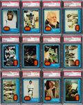 Non-Sport Cards:Sets, 1977 Topps Star Wars Series 1 (Blue Borders) High Grade PSAComplete Set (66) - With 47 Gem Mint 10s. ...