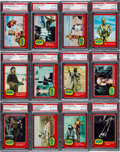 Non-Sport Cards:Sets, 1977 Topps Star Wars Series 2 (Red Borders) High Grade PSA CompleteSet (66) - With 34 Gem Mint 10s! ...