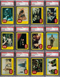 Non-Sport Cards:Sets, 1977 Topps Star Wars Series 3 (Yellow Borders) Very High Grade PSAComplete Set (66) - With 50 Gem Mint 10s! ...