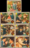 "Movie Posters:Crime, The Last Gangster (MGM, 1937). Lobby Cards (7) (11"" X 14""). Crime..... (Total: 7 Items)"
