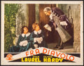 """Movie Posters:Comedy, The Devil's Brother (MGM, 1933). Spanish Language Lobby Card (11"""" X 14""""). Comedy.. ..."""