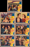 "Movie Posters:Crime, Golden Gloves (Paramount, 1940). Lobby Cards (7) (11"" X 14"").Crime.. ... (Total: 7 Items)"