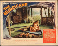 "Movie Posters:Adventure, The Hurricane (United Artists, 1937). Lobby Card (11"" X 14"").Adventure.. ..."