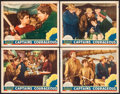 "Movie Posters:Adventure, Captains Courageous (MGM, 1937). Lobby Cards (4) (11"" X 14"").Adventure.. ... (Total: 4 Items)"