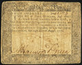 Colonial Notes:Maryland, Maryland August 14, 1776 $4 Very Good-Fine.. ...