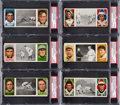 Baseball Cards:Lots, 1912 T202 Hassan Triple Folders PSA Graded Collection (22). ...
