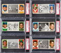 Baseball Cards:Lots, 1912 T202 Hassan Triple Folders PSA EX 5 Collection (14). ...