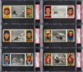 Baseball Cards:Lots, 1912 T202 Hassan Triple Folders PSA EX Collection (27). ...