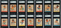 "Baseball Cards:Sets, 1938 Goudey ""Heads up"" SGC Graded Partial Set (40/48). ..."