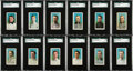 "Baseball Cards:Sets, 1910-11 M116 Sporting Life ""Blue Background"" Complete Set (24). ..."