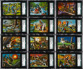 Non-Sport Cards:Sets, 1962 Topps Civil Wars News Art Layout Proof & Final Card Pairs(30 Different). ...