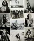 Books:Prints & Leaves, [Native American]. Archive of Approximately 180 Photographs Relating to Native American History and Culture....