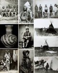 Books:Prints & Leaves, [Native American]. Archive of Approximately 160 Photographs Relating to Native American History and Culture....