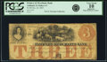 Obsoletes By State:Iowa, Ashland, IA - Farmers and Merchants Bank $3 Oct. 20, 1857 IA-UNL,Oakes 4-3. PCGS Very Good 10 Apparent.. ...