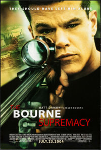 """The Bourne Supremacy & Others Lot (Universal, 2004). One Sheets (3) (27"""" X 40"""" & 26.75"""" X..."""