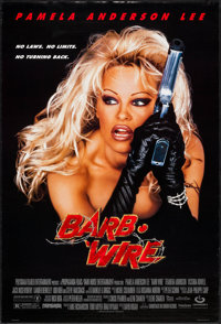 "Barb Wire & Other Lot (Gramercy, 1996). One Sheets (2) (26.75"" X 39.75"" & 27"" X 40"") DS. Act..."