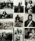 Books:Prints & Leaves, [Native American]. Archive of Approximately 190 PhotographsRelating to Native American History and Culture....