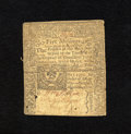 Colonial Notes:Connecticut, Connecticut May 10, 1770 5s Very Fine CC. A vibrant example of thisvery scarce early Connecticut note whose body grades Ver...