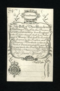 Colonial Notes:New Hampshire, New Hampshire April 1, 1737 Redated August 7, 1740 Cohen Reprint100s Gem New. This is simply a lovely example of this Cohen...