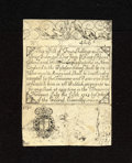 Colonial Notes:Rhode Island, Rhode Island July 5, 1715 Cohen Reprint Redated 1737 4s/6d VeryFine-Extremely Fine. A very attractive example of this popul...