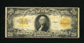 Large Size:Gold Certificates, Fr. 1187 $20 1922 Gold Certificate Very Good-Fine. The edges of this $20 Gold show only a couple of edge tears at the center...