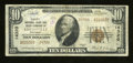 National Bank Notes:Kentucky, Louisville, KY - $10 1929 Ty. 2 Liberty NB & TC Ch. # 14320.The Liberty was the highest chartered national bank to issu...