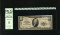 National Bank Notes:Maryland, Baltimore, MD - $10 1929 Ty. 2 National Central Bank Ch. # 11207.Officers H.H. Hahn and W.E. Katenkamp managed this ban...