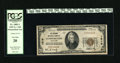 National Bank Notes:Maryland, Cumberland, MD - $20 1929 Ty. 1 The Second NB Ch. # 1519. CashierCharles Metz's signature also appears on Series 1902 n...
