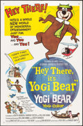 "Movie Posters:Animation, Hey There, It's Yogi Bear (Columbia, 1964). One Sheet (27"" X 41""). Animation.. ..."