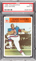 Football Cards:Singles (1960-1969), 1966 Philadelphia Gale Sayers #38 PSA Mint 9 - None Higher! ...