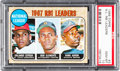 Baseball Cards:Singles (1960-1969), 1968 Topps NL RBI Leaders Cepeda/Clemente/Aaron #3 PSA Gem Mint 10- Pop Two....