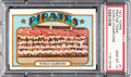 Baseball Cards:Singles (1970-Now), 1972 Topps Pirates Team - World Champions #1 PSA Gem Mint 10 - PopFive. ...