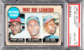 Baseball Cards:Singles (1960-1969), 1968 O-Pee-Chee NL RBI Leaders Cepeda/Clemente/Aaron #3 PSA GemMint 10 - Pop One....