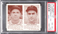 Baseball Cards:Singles (1940-1949), 1941 Double Play Campbell/Boudreau #131/132 PSA NM-MT+ 8.5 - OnlyOne Higher. ...