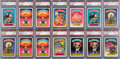 Non-Sport Cards:Singles (Pre-1950), 1985 Topps Garbage Pail Kids PSA Graded Complete Master Set (88) -With 86 PSA Gem Mint 10's!...