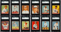 Baseball Cards:Sets, 1933 Goudey Baseball Near Set (235/239) With Ruth & Gehrig. ...