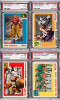 Football Cards:Sets, 1955 Topps All American Football Complete Set (100). ...