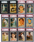 Baseball Cards:Sets, 1957 Topps Baseball Complete Set (407) With 332 Graded Cards....