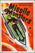 "Movie Posters:Science Fiction, Missile Monsters (Republic, 1958). One Sheet (27"" X 41""). ScienceFiction.. ..."