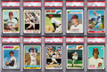 Baseball Cards:Sets, 1976 - 1978 Baseball High Grade Complete Sets (3). ...