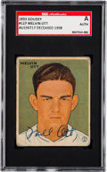 Autographs:Sports Cards, Signed 1933 Goudey Mel Ott #127 SGC Authentic. ...