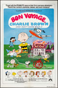 "Movie Posters:Animation, Bon Voyage, Charlie Brown (Paramount, 1980). One Sheet (27"" X 41""). Animation.. ..."