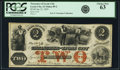 Obsoletes By State:Iowa, Lyons City, IA - Treasurer of Lyons City $2 Jan. 12, 1859 Oakes 89-2. PCGS Choice New 63.. ...