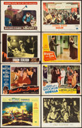 "Movie Posters:Science Fiction, The Mole People & Others Lot (Universal International, 1956).Lobby Cards (26) & Restrike Photo (11"" X 14""). ScienceFiction... (Total: 27 Items)"