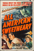 """Movie Posters:Musical, All-American Sweetheart & Other Lot (Columbia, 1937). One Sheet(27"""" X 41"""") & Photo (8"""" X 10""""). Musical.. ... (Total: 2 Items)"""