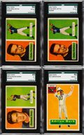 Football Cards:Lots, 1956 and 1957 Topps Football Collection (500+). ...