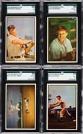 Baseball Cards:Sets, 1953 Bowman Color and Black & White Complete Sets (2). ...