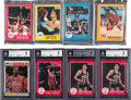 Basketball Cards:Lots, 1985 - 1987 Star Co. & Fleer Basketball Card Collection (200+)....