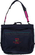 Basketball Collectibles:Others, 1992 Olympic Games USA Basketball Dream Team Garment Bag - Fischer Collection. ...