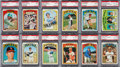 Baseball Cards:Sets, 1972 Topps Baseball High Grade Complete Set (787) With Almost 400PSA Graded Cards. ...